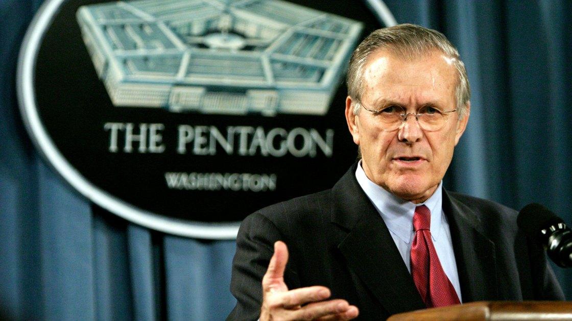 Donald Rumsfeld, former secretary of defense, dies at 88