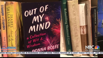 """NBCares Silver Linings: Donna Rolfe """"Out of My Mind A Collection of Wit and Wisdom"""""""
