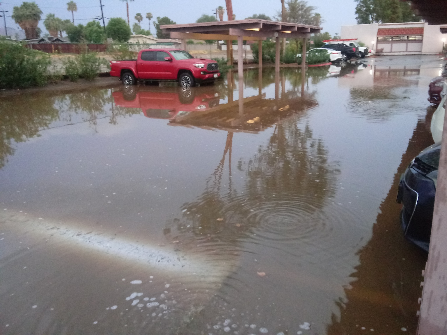 Thunderstorms Cause Power Outages In Coachella Valley