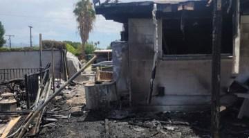 Neighbor Helps Family Escape Flames