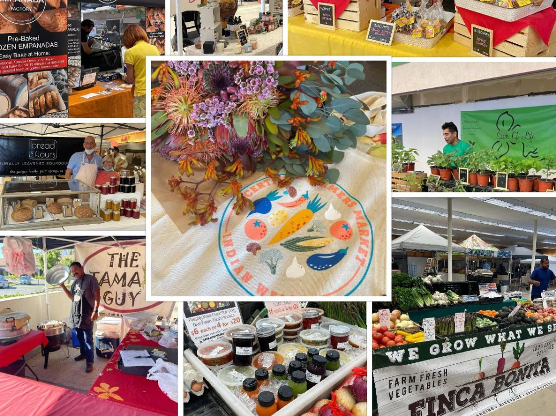 Indian Wells Certified Farmers Market Moves Indoors for Summer