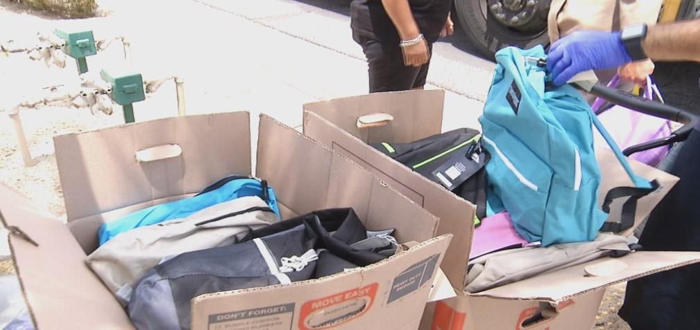 Kaiser Permanente donates 200 Backpacks to PSUSD
