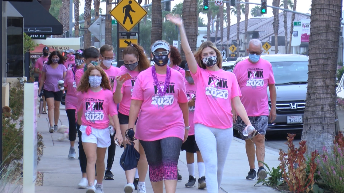 Paint El Paseo Pink taking place in-person October 9th