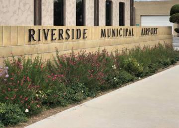 Single-Engine Plane Goes Down During Landing at Riverside Airport