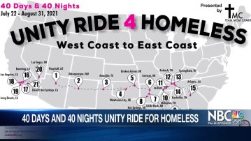 Unity Ride 4 Homeless 40 Days and Nights Tour