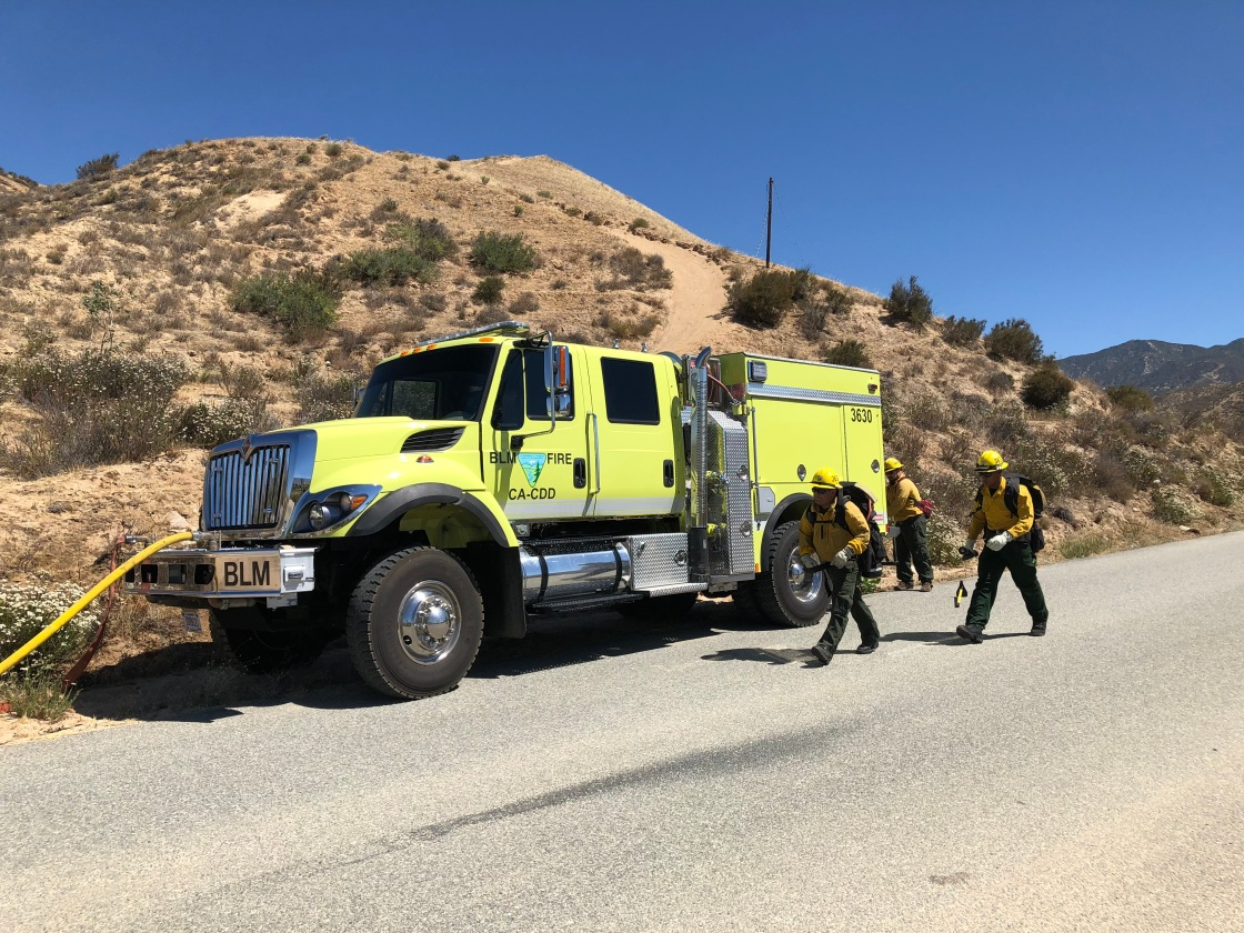 Increased Wildfire Risks Closes Whitewater Canyon
