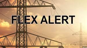 Flex alert issued for Monday