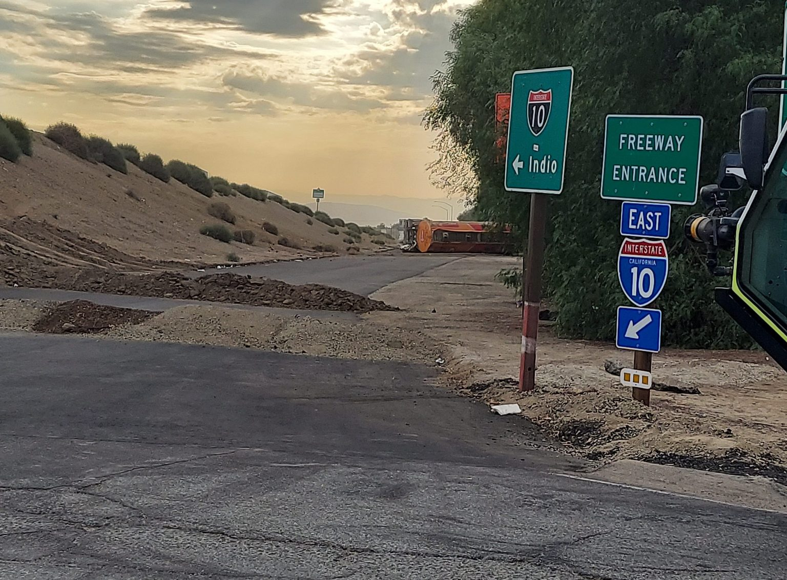 Interstate 10 Fuel Spill Cleanup To Take Two Weeks
