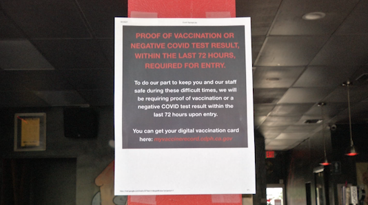 COVID-19 Vaccine Required for Indoor Dining in Palm Springs