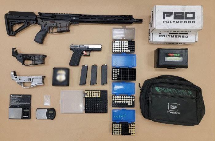 Parolee Arrested With AR-15 Ghost Gun, Fake Law Enforcement Badge