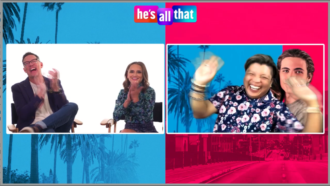 """What Rachel Leigh Cook & Matthew Lillard Really Think of New """"He's All That"""""""