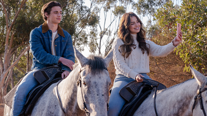 """Addison Rae, Tanner Buchanan on Reimagined """"He's All That"""""""