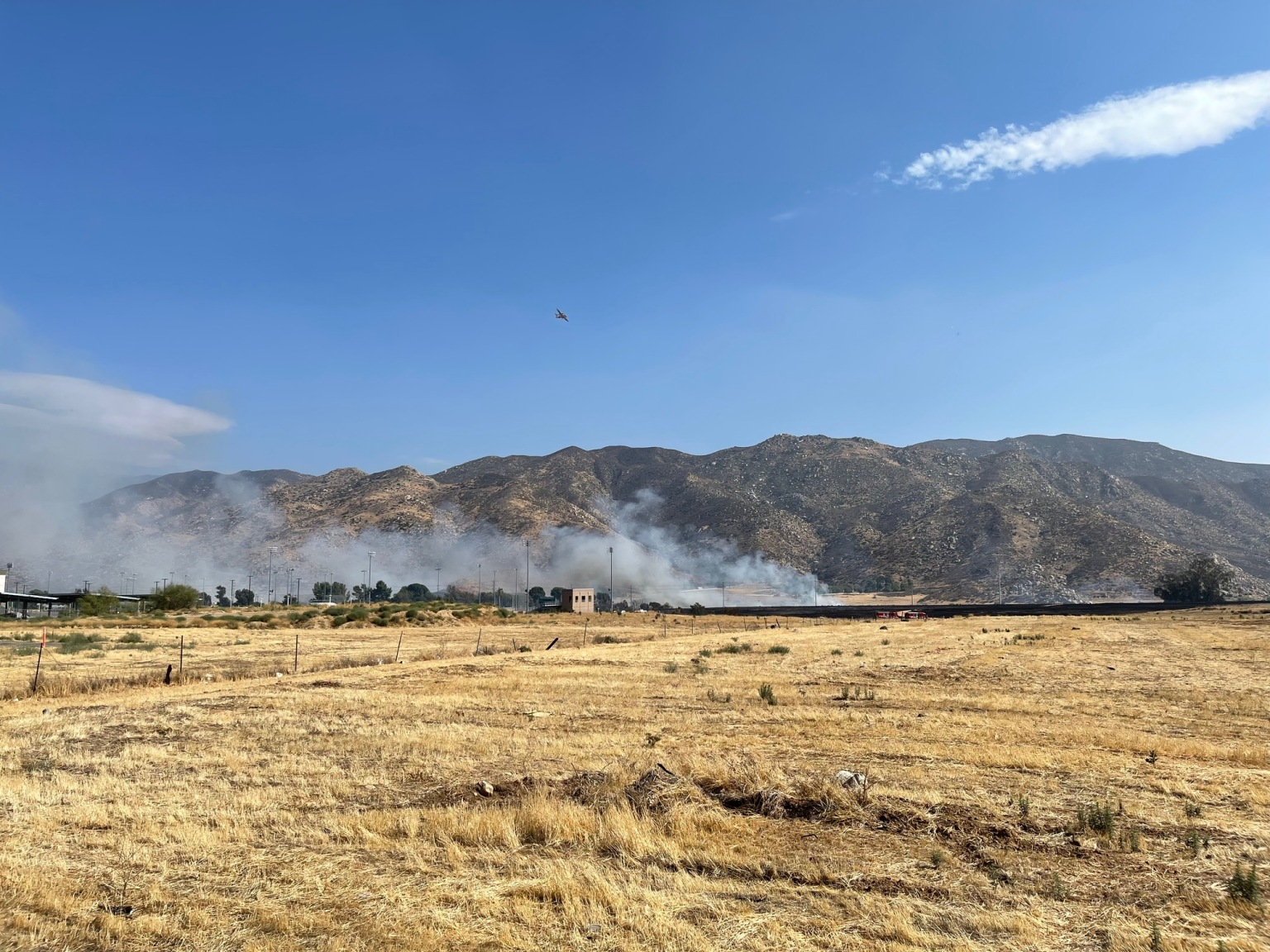 Banning fire grows to 200 acres, Prompting Evacuations