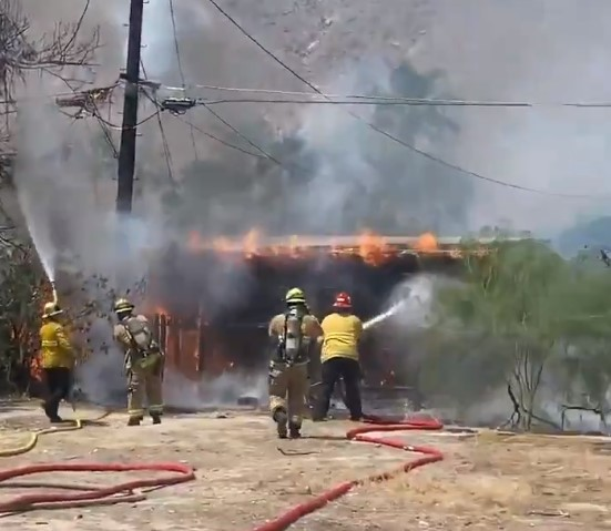 Arson Suspected in Two Palm Springs Fires, 1 Person in Arrested