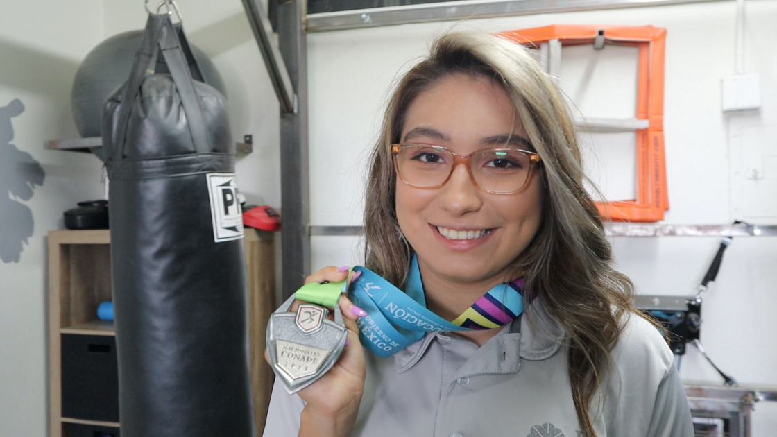 Xavier Prep Wrestler, Elissa Jimenez wins Silver at Mexican National Junior Olympics