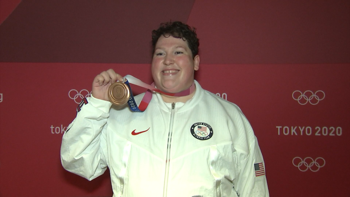 Family Celebrates Sarah Robles Making History at the 2020 Tokyo Olympics