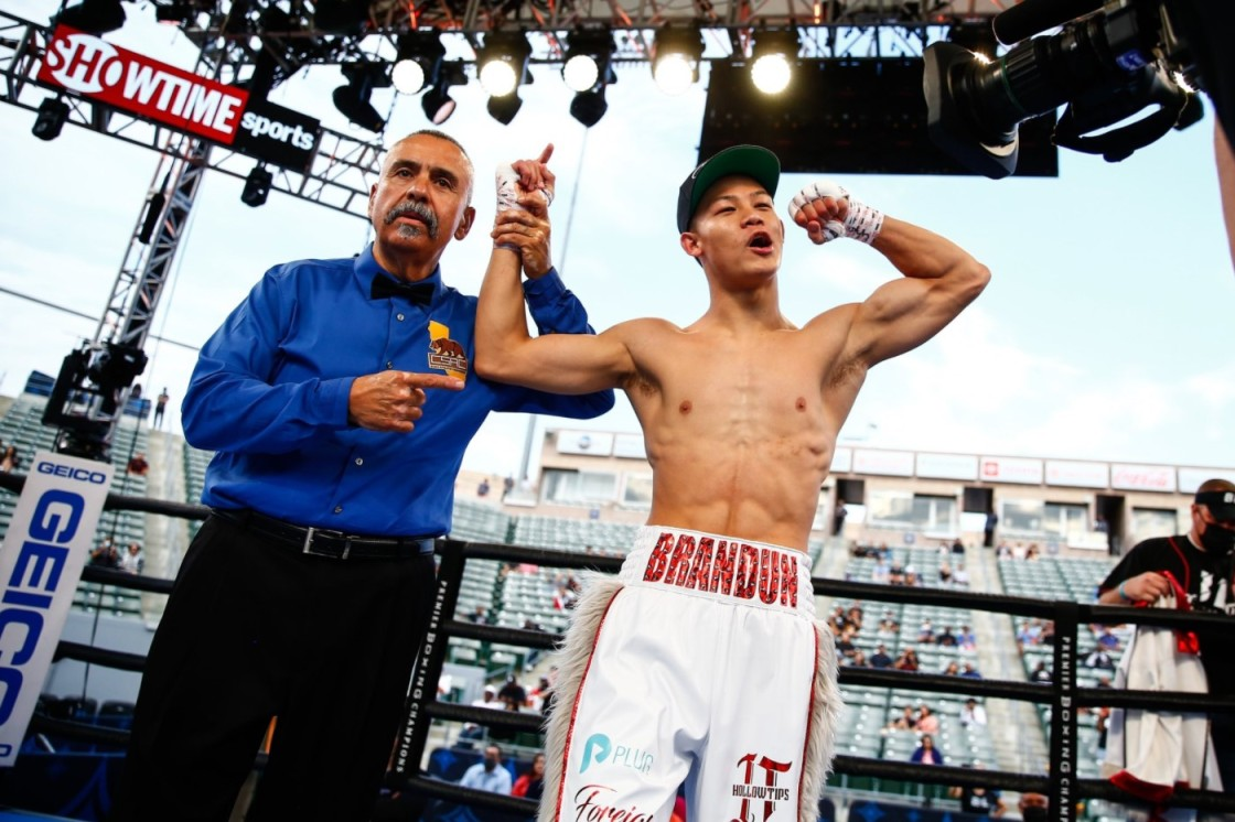 Coachella Valley Native & Pro Boxer Brandun Lee Undefeated with 21 KOs
