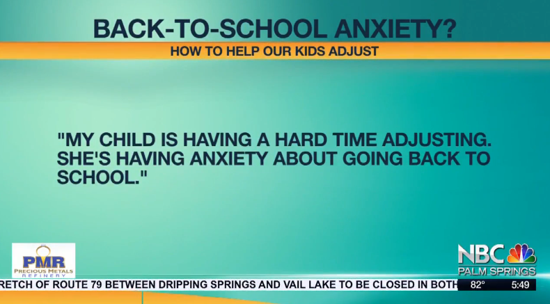 WATCH: Is Your Kid Dealing with Back-to-School Anxiety? Dr. Michele Borba Talks About Kids' Mental Health