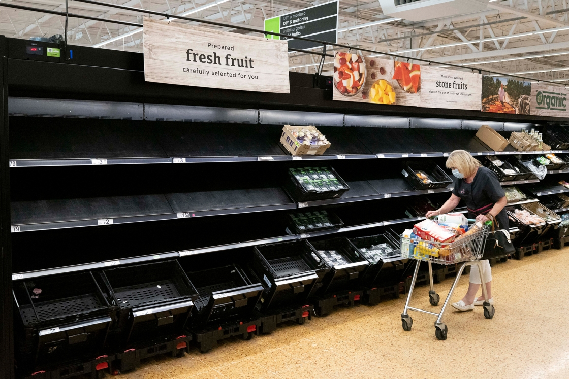 UK worker shortages could cancel Christmas. Brexit isn't helping