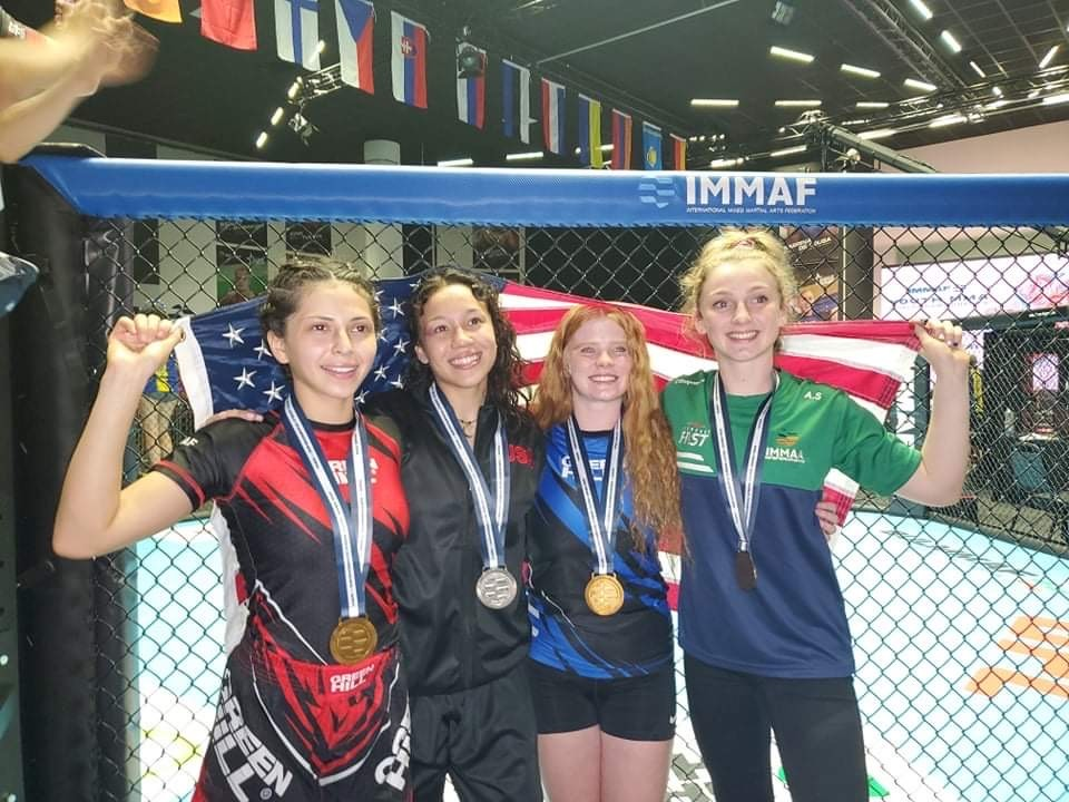 Desert Hot Springs Youth MMA Fighters Finish Top Three at World Championships