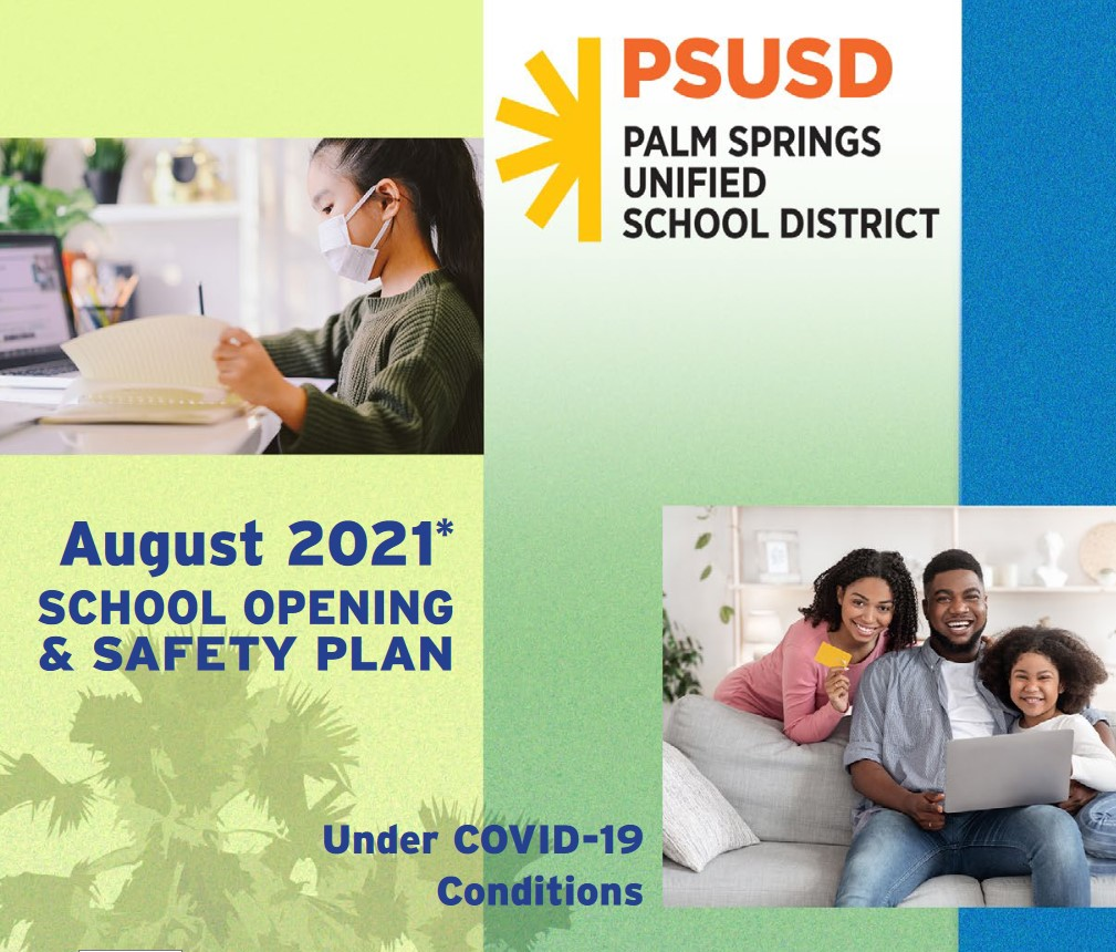 Masks Required Indoors as PSUSD Schools Reopen Wednesday