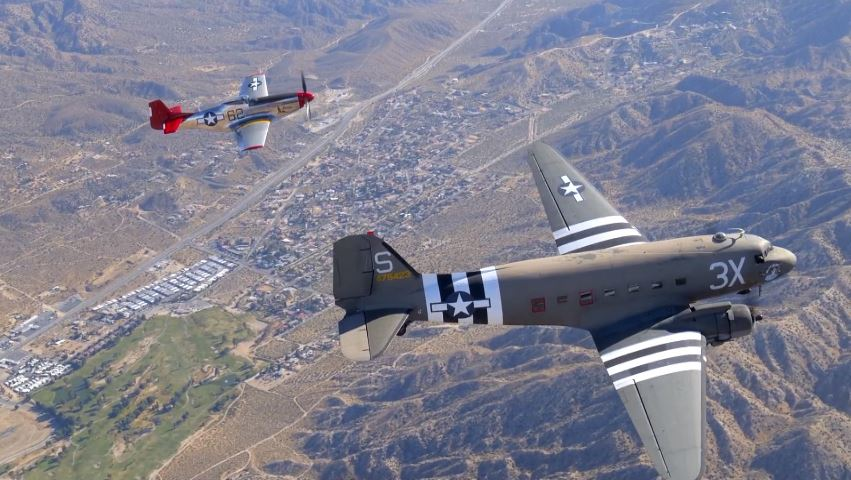 Palm Springs Air museum remembers 9/11 and honors service members with flyover