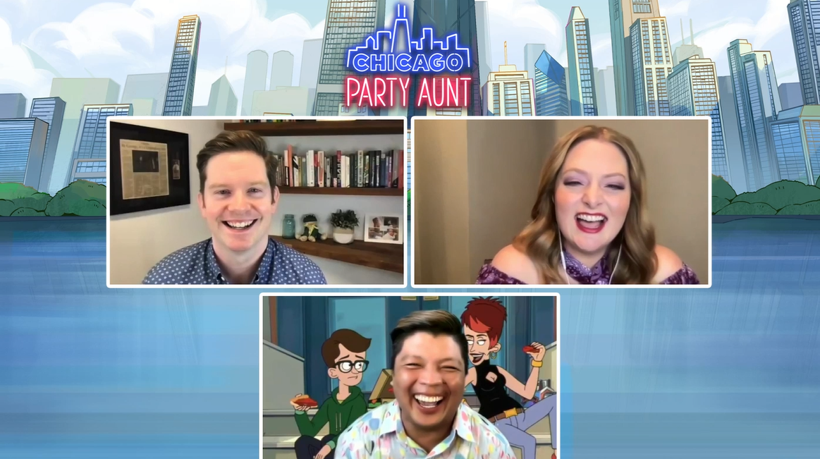 """Lauren Ash, Rory O'Malley """"Chicago Party Aunt"""" Interview"""