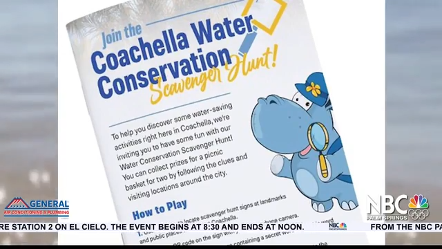 NBCares Silver Linings Coachella Water Conservation Scavenger Hunt