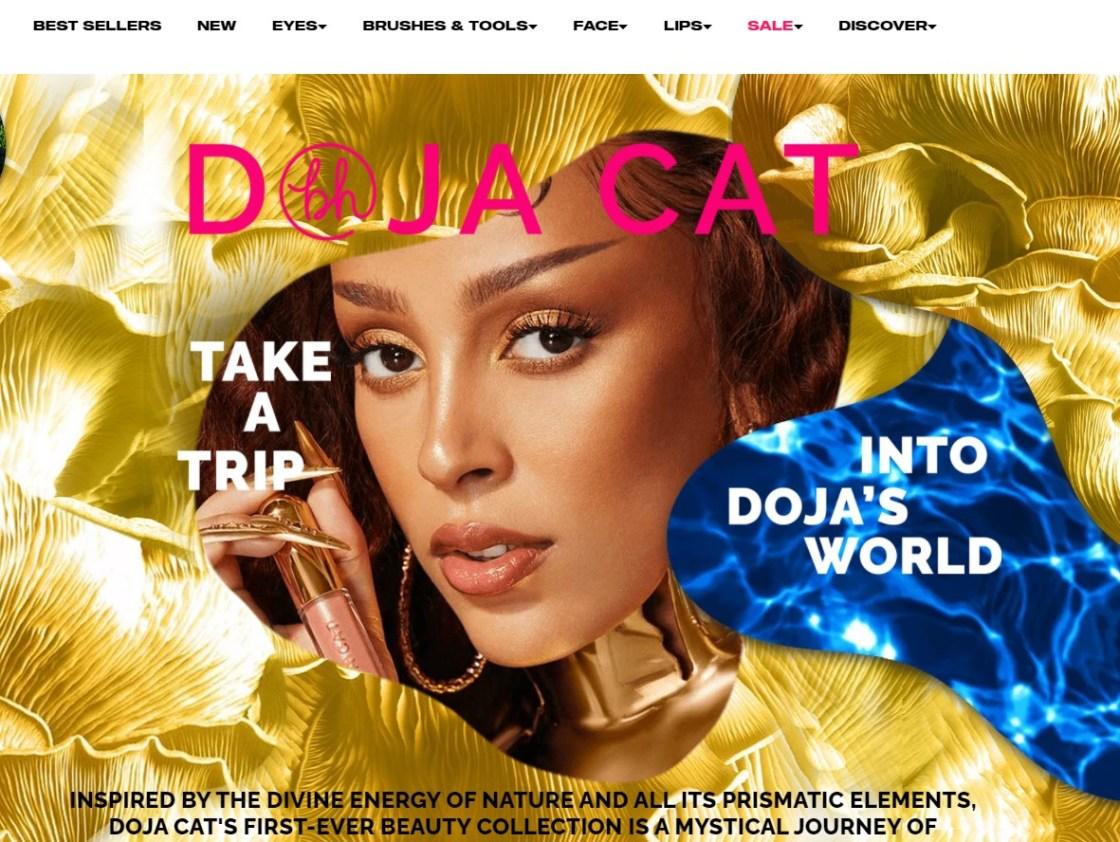 Doja Cat Debuts Makeup Line with BH Cosmetics