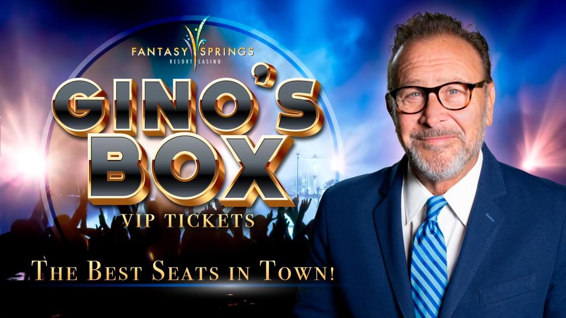 Gino's Box - VIP Tickets