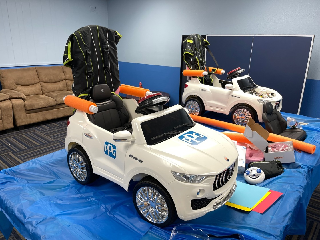 Boy & Girls Club, X-Bots Robotics, PPG Foundation Build Mobility Cars for Toddlers