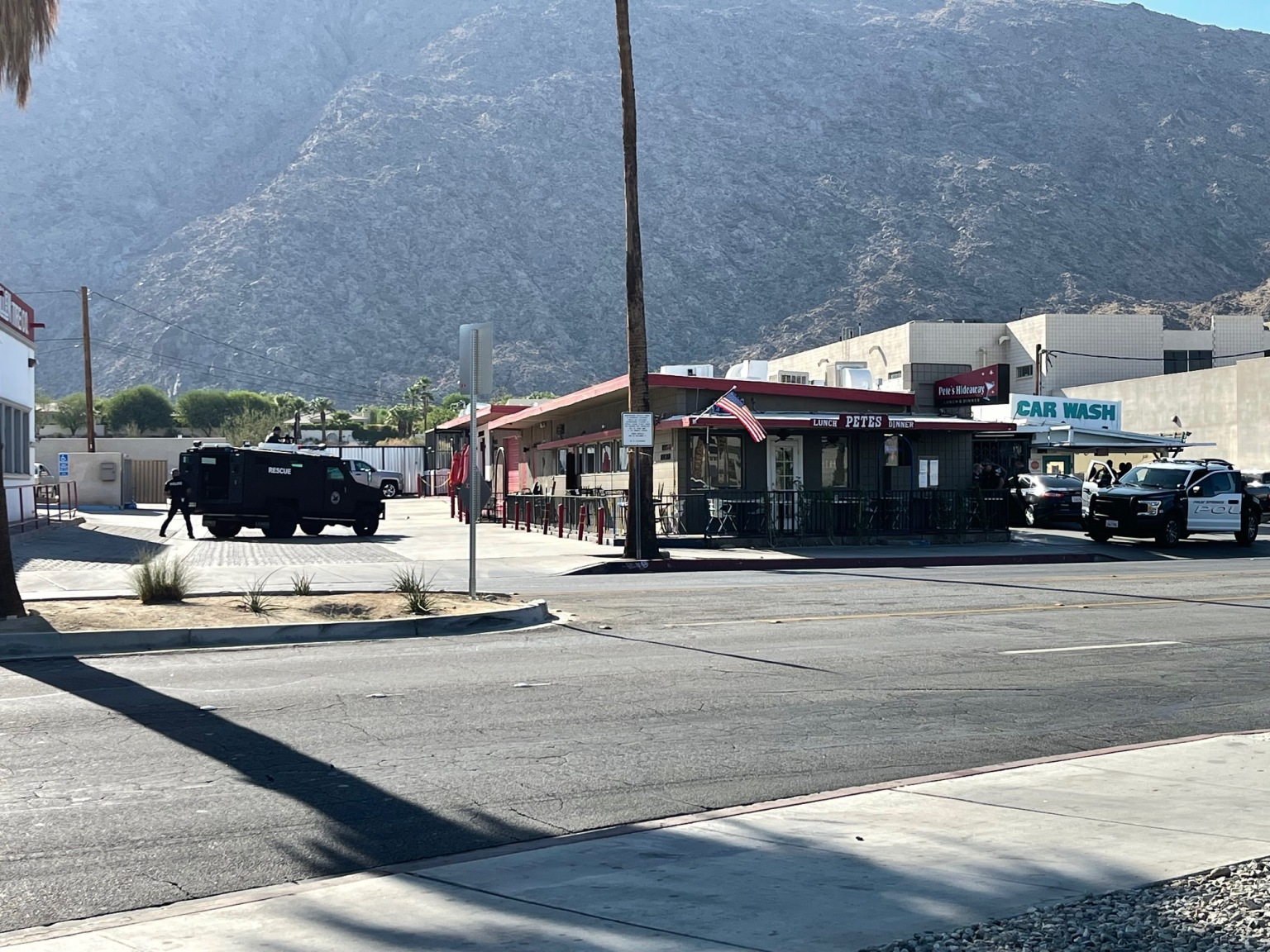 Suspicious Circumstances Cause Police to Surround Palm Springs Restaurant