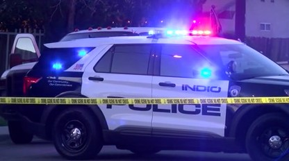 Man Found Shot On Indio Street