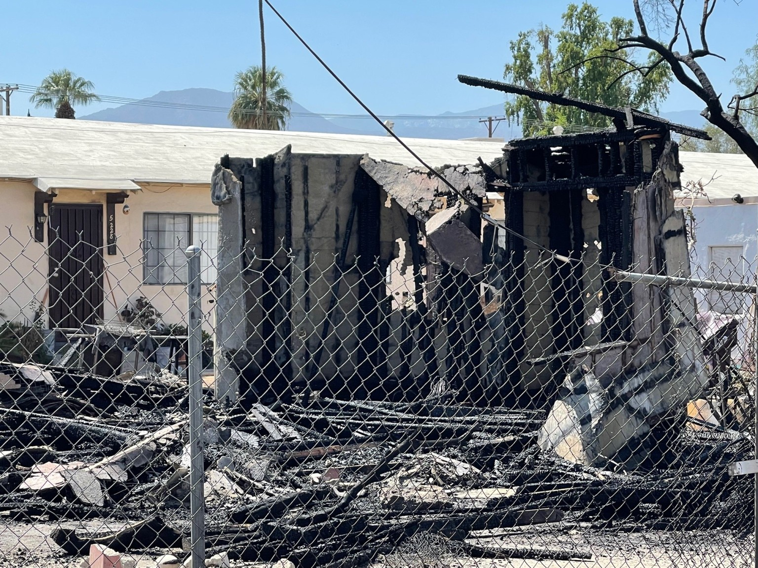 Flames Erupt in Residential Structure In Indio; No Injuries Reported