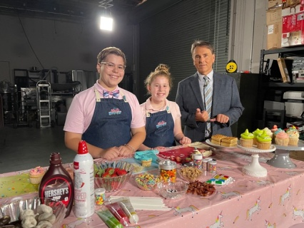 Local kids to debut on Disney Channel bake-off show