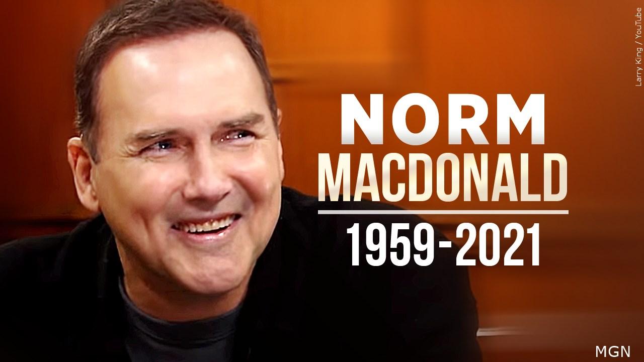 Comedian, `SNL' Alum Norm Macdonald Dies At 61