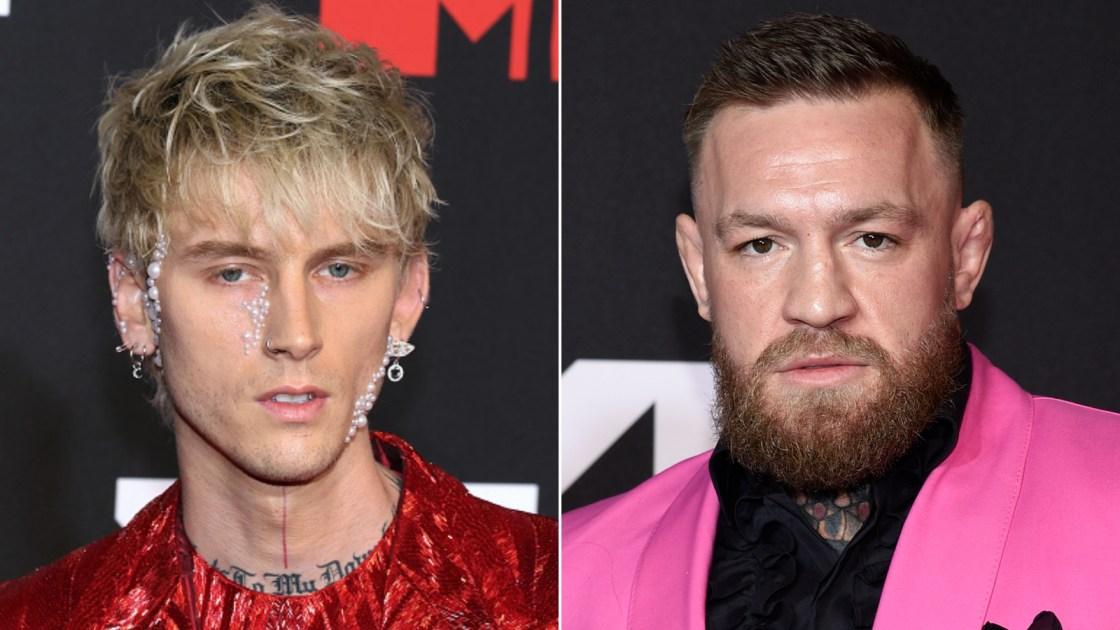 Conor McGregor denies altercation with Machine Gun Kelly at MTV VMAs