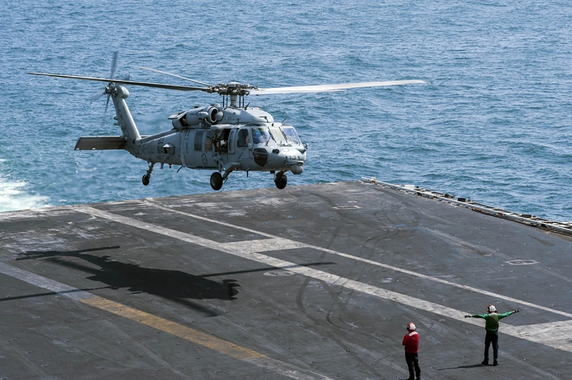 Search Underway for Sailors Missing Following Navy Helicopter Crash at Sea