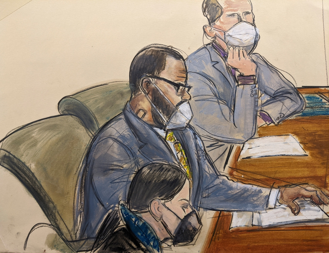 R. Kelly convicted of racketeering by a federal jury in New York