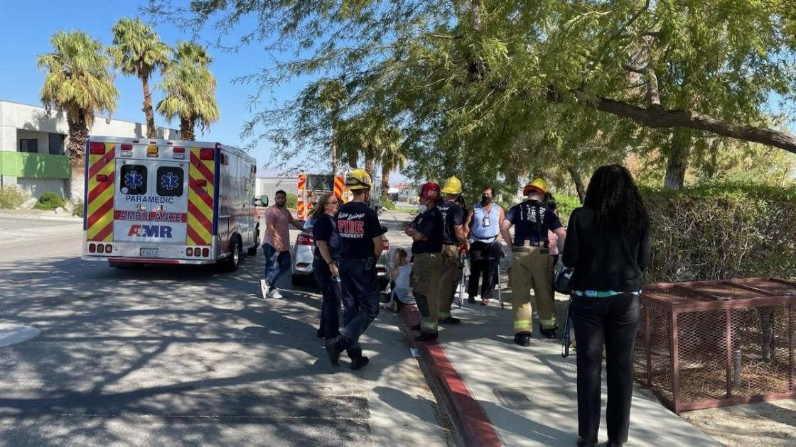 """Fifteen treated in """"mass casualty"""" event at Palm Springs DMV"""