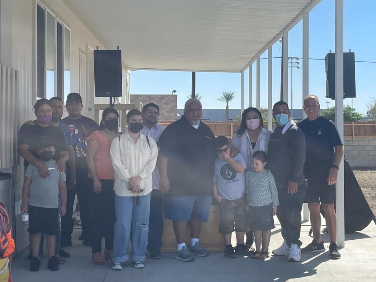 Twenty-Nine Palms Band of Mission Indians Donate Homes to Indio Families