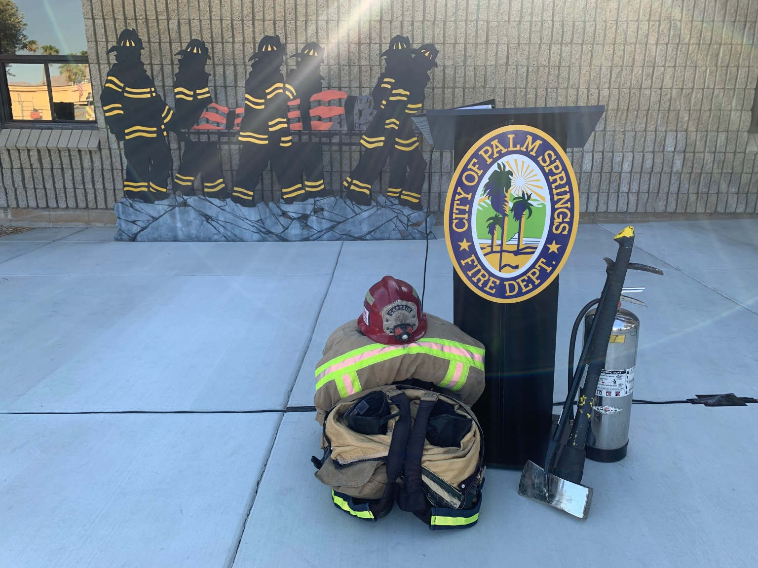 Palm Springs Fire Department Shares Story of 9/11 With Younger Generations