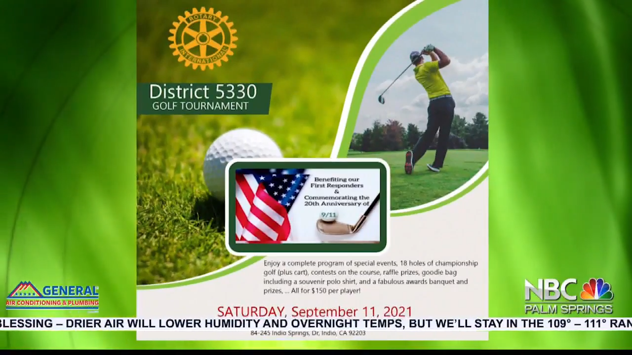 NBCares Silver Linings Rotary 9/11 Golf Tournament