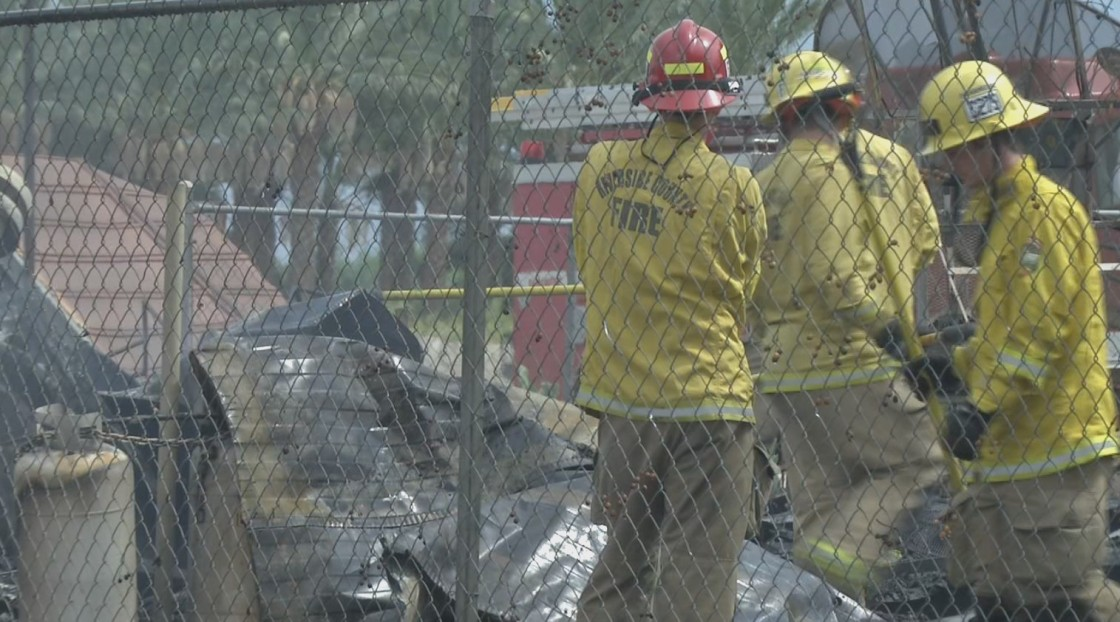 One Injured In Mobile Home Blaze In Thermal
