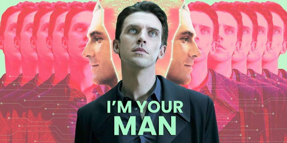 """Manny the Movie Guy Talks to Dan Stevens About Being an Android in Love in """"I'm Your Man"""""""