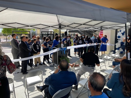 Palm View Elementary Remodeling Grand Opening