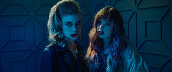 """Lucy Fry and Debby Ryan Talk to Manny The Movie Guy About Netflix's Thriller """"Night Teeth"""""""