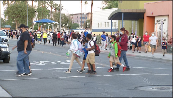 National 'Walk to School Day' motivates kids to stay active