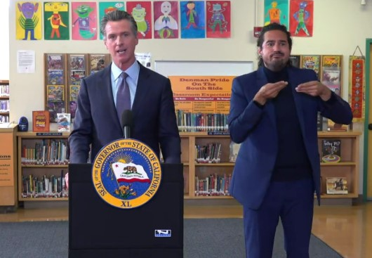 Newsom Mandates COVID Vaccines for Students to Attend In-Person Instruction