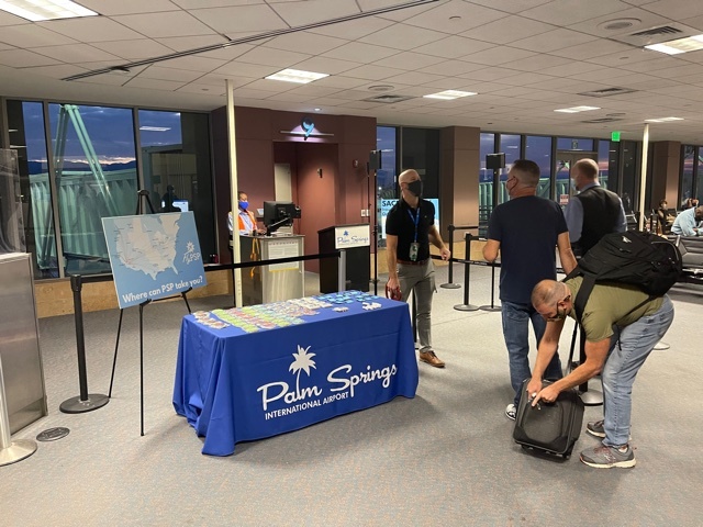 Direct flights to Sacramento now available at Palm Springs International Airport